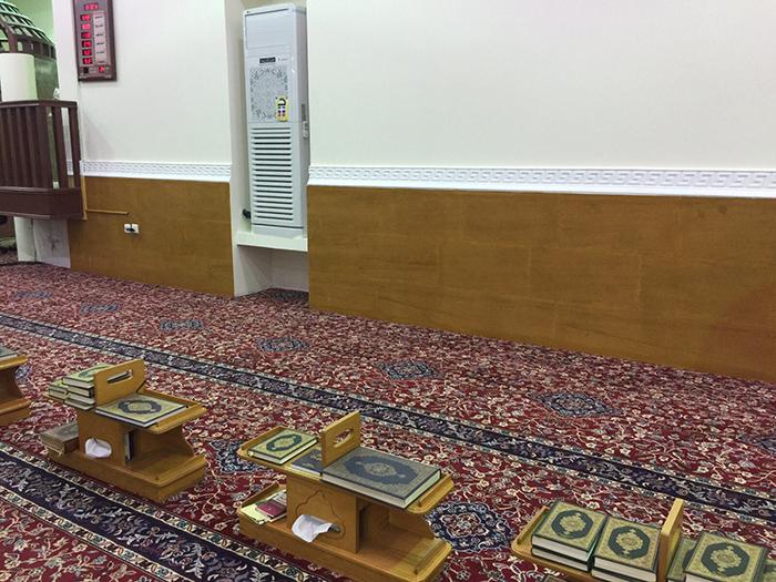 تجهيز حلقات تحفيظ القرآن