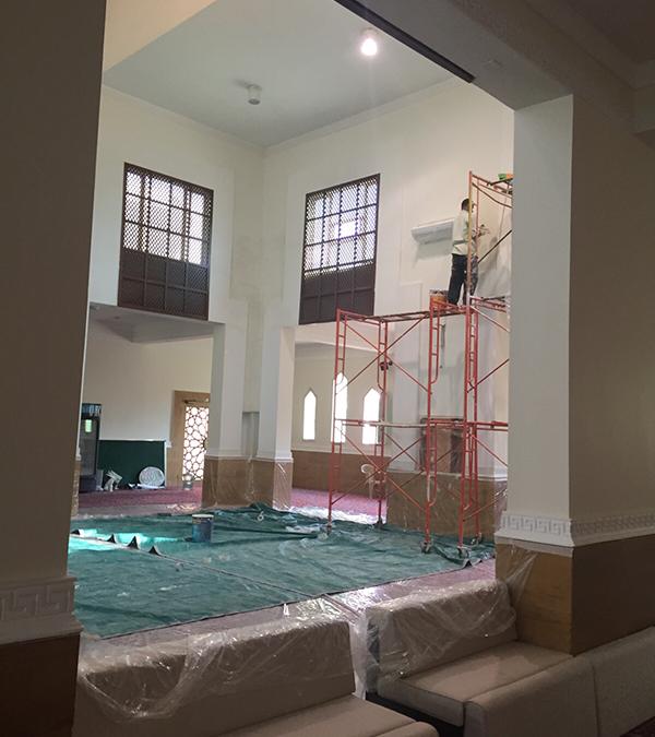 إنشاء و ترميم المساجد