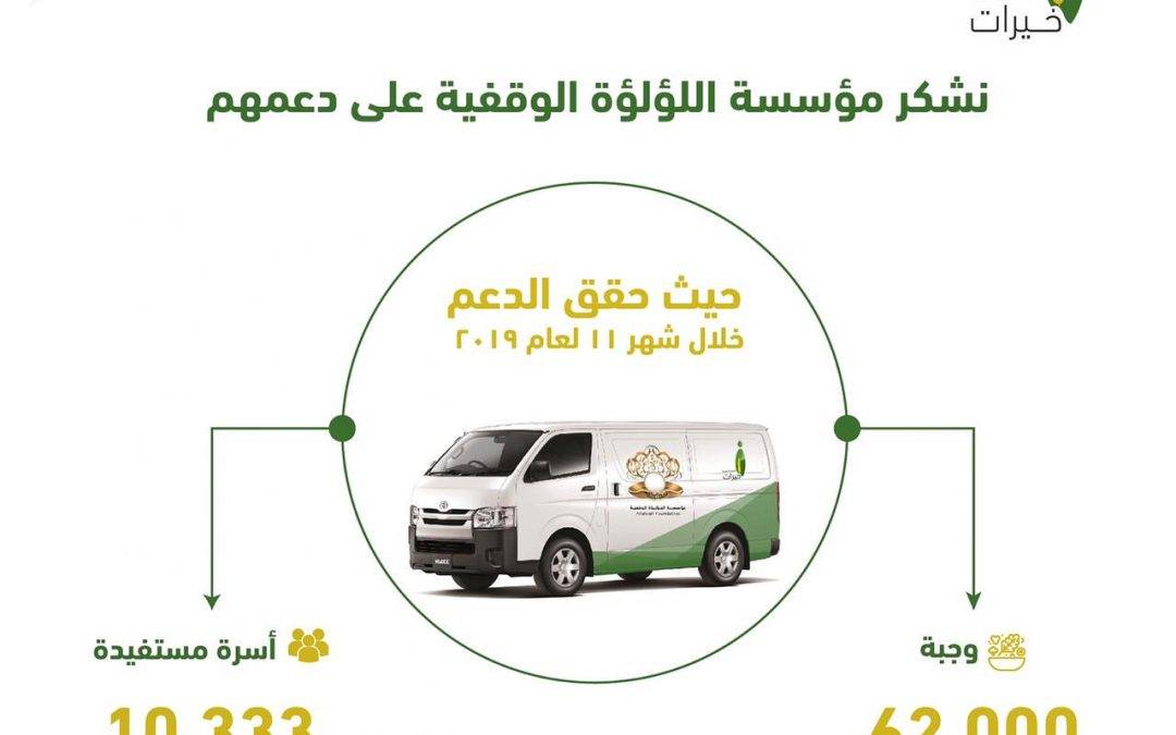 [مشروع احفظها وأطعمني] جمعية خيرات لحفظ النعمة