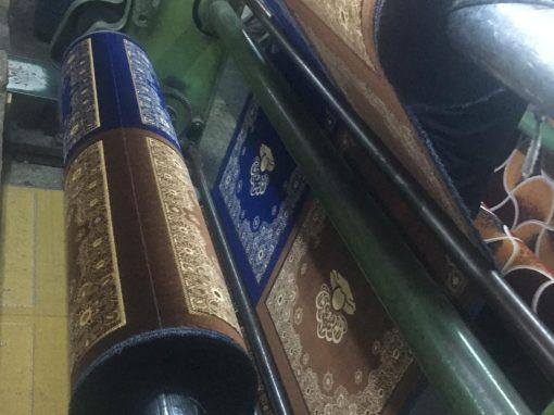 [تصنيع سجاد صلاة لزوار بيت الله الحرام]